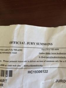 JurySummons